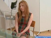 Old fat gynecologist gets to check a sweet teen