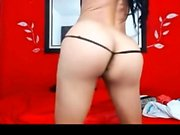 Amateur realtor babe posing in lingerie