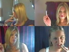 A video i made my sister Jessica smoking newports 100s