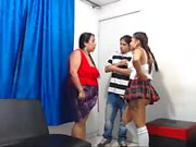 MMF Mature Threesome on webcam