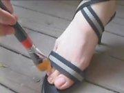 japanese feet tickle