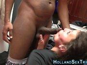 Hooker takes black cock