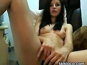 Russian teen glamour jerking off