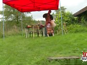 Hot amateur outdoor and cumshot