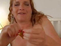 Cute and cuddly mature amateur fucked