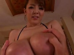 Lusty big boobs hoe Trina Michaels suck many big black dicks