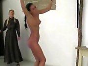 Serita and Stella get spanked