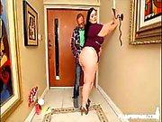 Sexy bbw Becki Butterfly fucks Ramons monster cock
