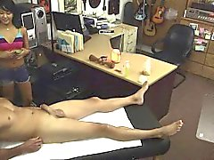 Voyeur jerking off with amateur couple erotica