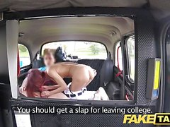 Fake Taxi Student has nice arse and beautiful wet pussy