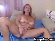 Blonde MILFS Tease With Toys