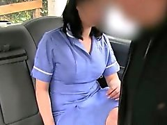 Kinky amateur passenger sucks and fucked by fraud driver