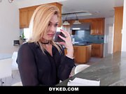 Dyked - Blonde Blatan Lee Fucks Carolina Sweets