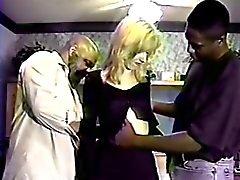 Rare Holly Wetlove FIRST Interracial Clip