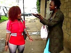 Horny African Sluts In Hot Lesbian Action