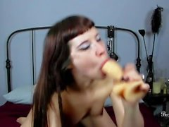 JOI - Brookelynne Briar Sucks And Begs You To Cum In Her Mouth