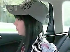 Petite black haired amateur banged for a free taxi fare