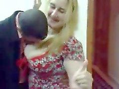 My arab milf dancing for my friend in Arab Saghra Night