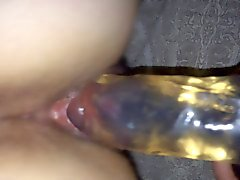 Slut wife riding the dildo