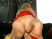 BBW Samantha 38G & Maria Moore in hot Lesbian Sex.