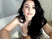 Massive boobs amateur teen girl masturbates her wet snatch