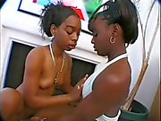 Lesbian Couple Loves To Have Some Fun