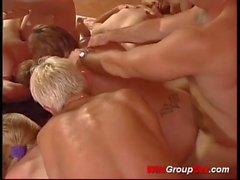 wild german groupsex orgy