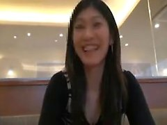 Beautiful Japanese chick gets picked up outside and used on