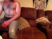 Amateur Blonde MILF Strips For Webcam