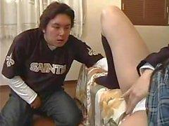 jeune japonaise douche exhibee deshabilleee baisee