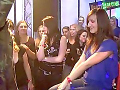 Yong girls fucked hard after dance doggystyle by dark waiter