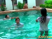 sexy thai girls in pool