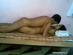 Small Tit Ebony Babe Takes Dick