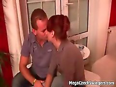 Big tits amateur swingers having