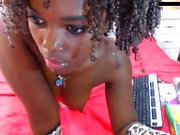 Ebony Big Boobs Girl Webcam Show