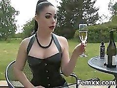 Femdom Fetish For Kinky Hottie