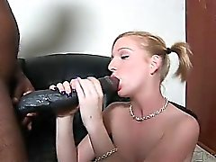 The brothas promise no pussy left unfucked and they mean it! Pretty Alexa was starved for some hot chocolate and this brotha had a 12 delivery waiting at her backdoor! Watch him grant this sexy slut's wish as mega meat meets tiny twat in this one!