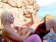 Adventurous Blonde Takes On Two Guys.mp4