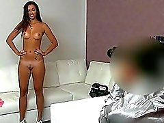 Slender Katka pussy fucked and creampied