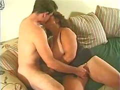 bbw fucked on the sofa