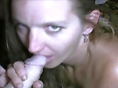 Blowjob And Banging Point Of View With Blonde Crack Whore