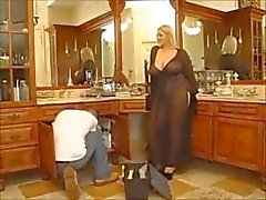 Charming housewife with huge boobs Sucks & fucked perfectly.
