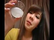 Elegant Asian chick makes a dick explode with pleasure with