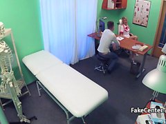 Milf nurse fucked young stud in hospital