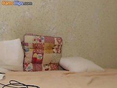 Amateur webcam couple great arse