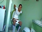 italian Natasha at water closet