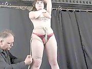 Amateur bondage of Elisa