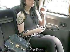 Pretty Alessa gets fucked for taxi fare