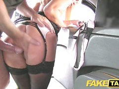 Fake Taxi Horny MILF gets a hot ride