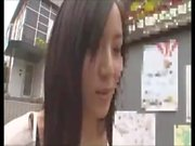 Shy japanese teen